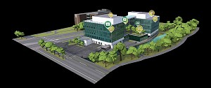 3D View Knight Campus